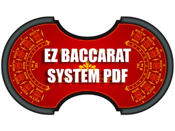 Ez Baccarat Winning Strategy